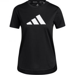 adidas Badge Of Sport Logo Trenings T-skjorte Dame