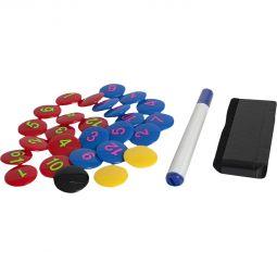 Select Magnetsett m / 23 stykker + penn