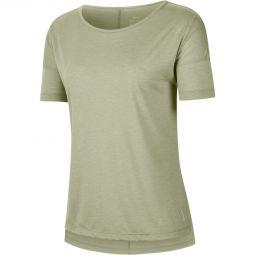 Nike Yoga Trenings T-skjorte Dame