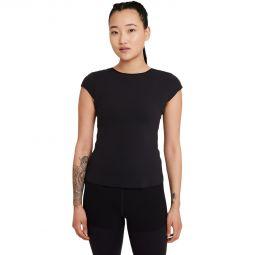 Nike Yoga Luxe Trenings T-skjorte Dame