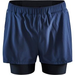 Craft Advanced Essence 2-in-1 Stretch Running Shorts Men