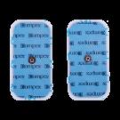 Compex 2-Pakke trykknappelektroder 5x10