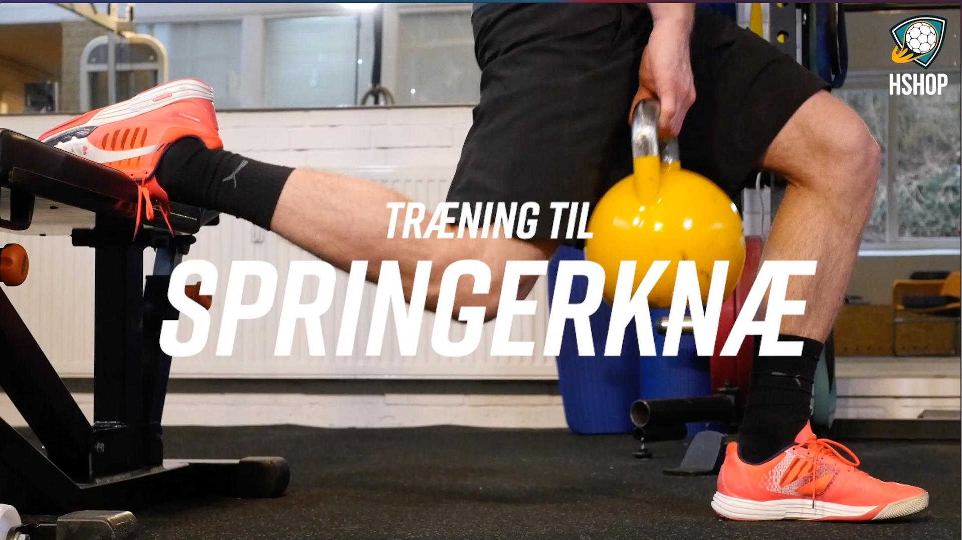 Træning til Springerknæ